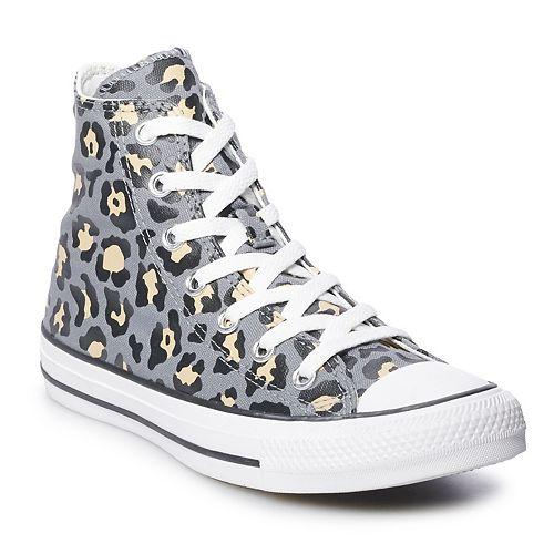 Women's Converse Chuck Taylor All Star Leopard Print High Top Sneakers