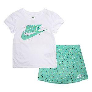 Girls 4-6x Nike Tee & Skort Set