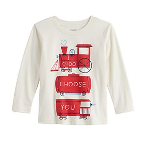 """Toddler Boy Jumping Beans® """"I Choo Choose You"""" Train Graphic Tee"""