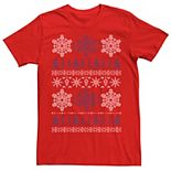 Men's Star Wars Imperial Logo Ugly Christmas Sweater Tee
