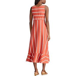 Women's Chaps Midi Dress