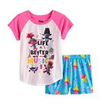 Girls DreamWorks Trolls Poppy 2-Piece Pajama Set