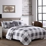 Buffalo Plaid Reversible Quilt Set