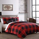 Buffalo Plaid Reversible Quilt Set