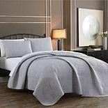 Avondale Manor Yardley Embossed Quilt Set