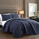Yardley Embossed Quilt Set