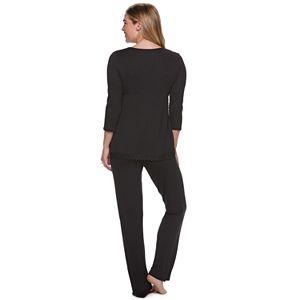 Maternity a:glow Nursing Pajama Set