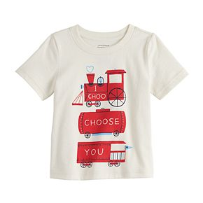 Baby Boy Jumping Beans® Trains Graphic Tee