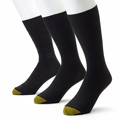 GOLDTOE 3-pk. Ultrasoft Dress Socks