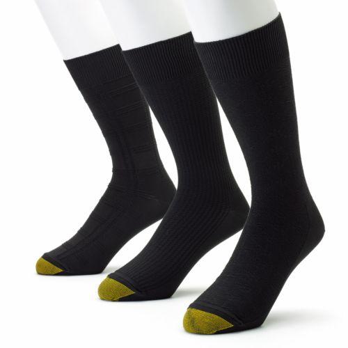 GOLDTOE 3-pk. Ultrasoft Dress Socks