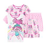 Girls 4-8 Dreamworks Trolls Poppy Tops & Bottoms Pajama Set