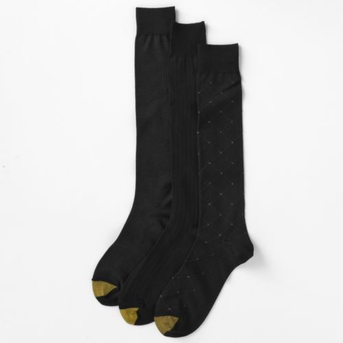 GOLDTOE 3-pk. Over-the-Calf Dress Socks