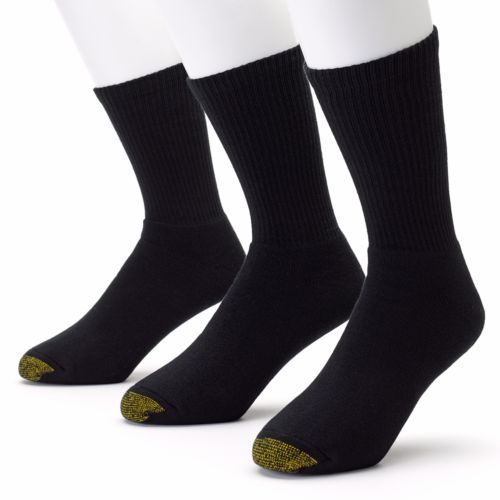 GOLDTOE 3-pk. Uptown Crew Socks