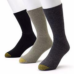 Men's GOLDTOE 3 pkUptown Crew Socks