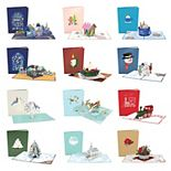Lovepop 12 Days of Christmas 12-Pack Greeting Card Set