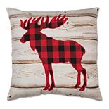 Buffalo Check Moose Toss Pillow