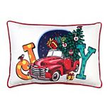 Holiday Joy Toss Pillow