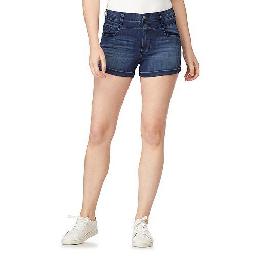Juniors' WallFlower Insta Soft High-Rise Sassy Shorts