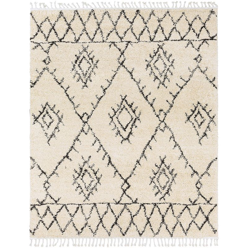 Decor 140 Llasa Beige Rug, Beig/Green, 8Ft Sq