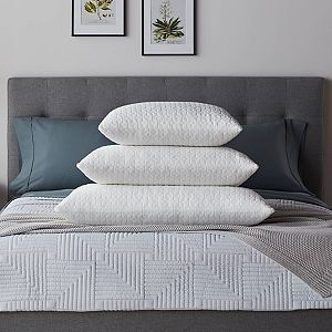 Lucid Dream 2-pack Fiber & Shredded Foam Pillow