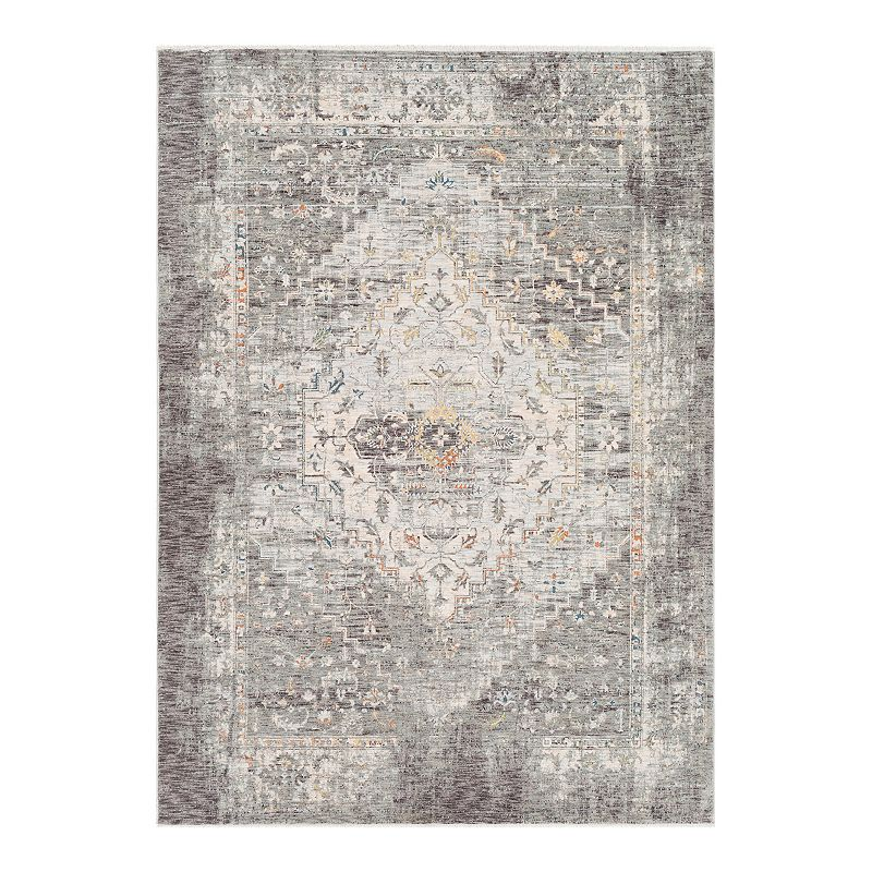 Decor 140 Lucio Charcoal Rug, Grey, 2X3 Ft