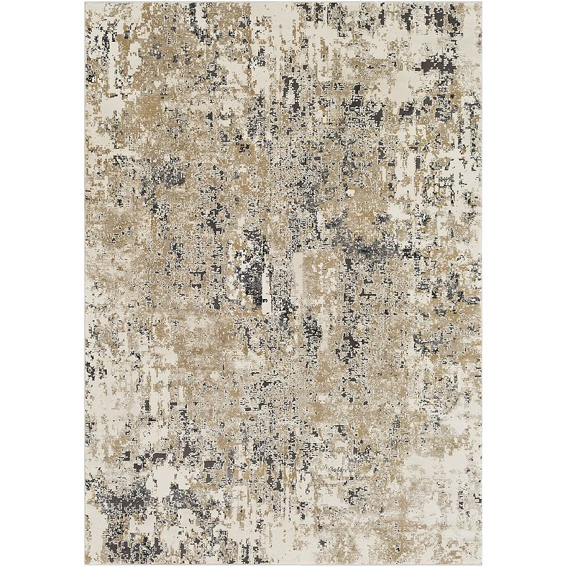 Decor 140 Meitner Rug, Beig/Green, 8X10 Ft