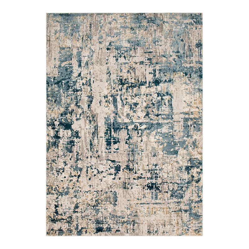 Decor 140 Meitner Rug, Blue, 8X10 Ft