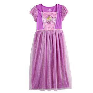 Girls Disney's Tangled Rapunzel Fantasy Princess Nightgown