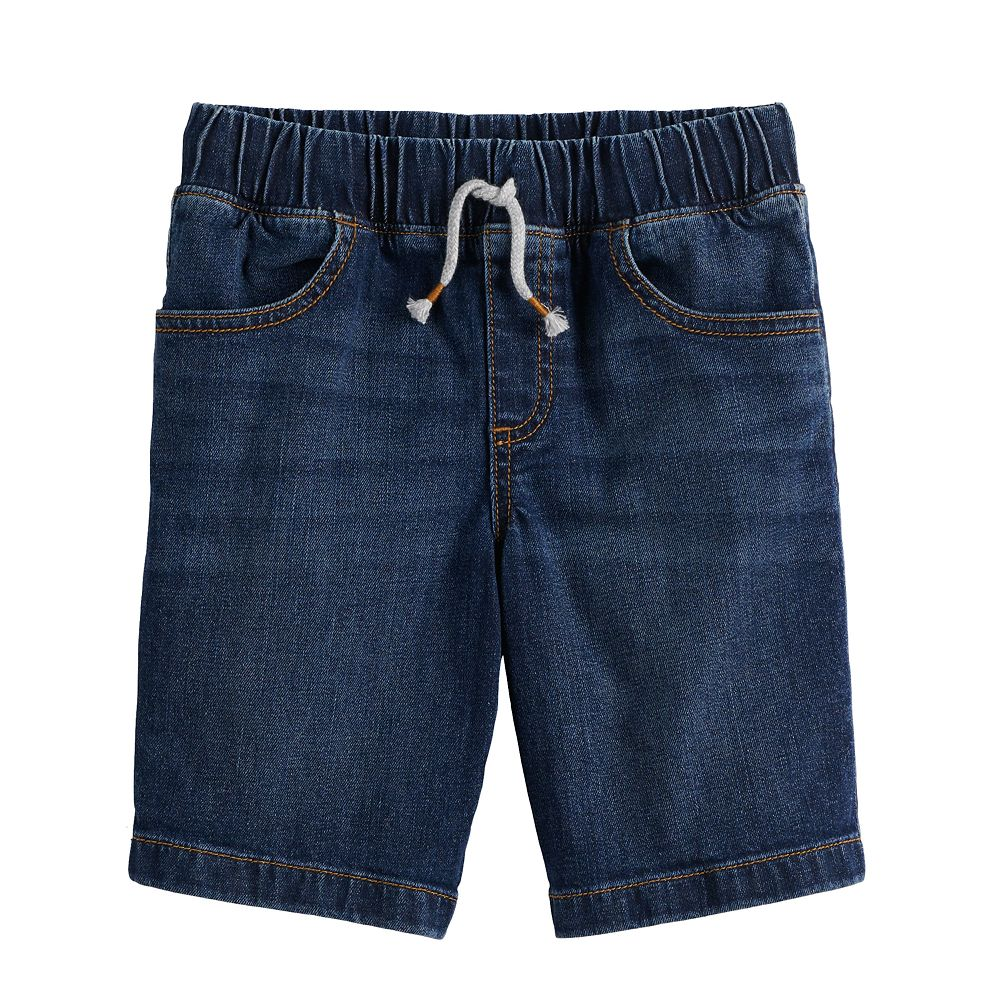 Boys 4-12 Jumping Beans® Pull On Denim Shorts in Regular, Slim & Husky
