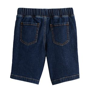 Boys 4-12 Jumping Beans® Pull On Denim Shorts