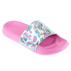 Girls Elli by Capelli Chill Summer Slide Sandals