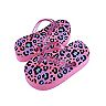 Girls 4-13 Elli by Capelli Clear Glitter Upper Flip Flops