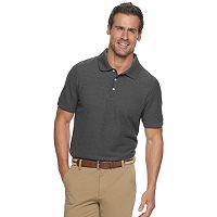 Deals on Croft & Barrow Mens Easy-Care Pique Polo Mens