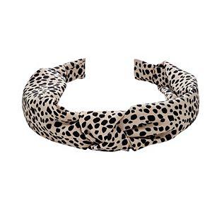 Animal Print Top Knot Headband