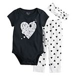 Disney's 101 Dalmatians Baby Girl Bodysuit, Pants & Hat Set by Jumping Beans®