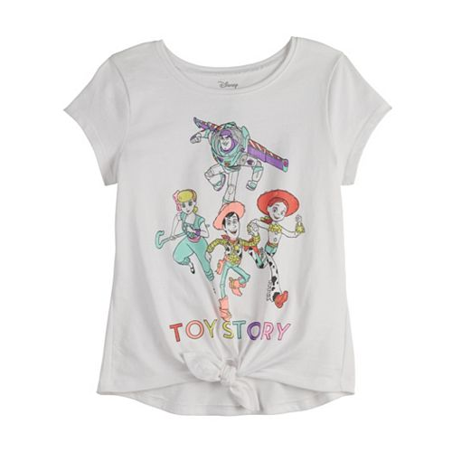 Disney / Pixar Toy Story Girls 4-12 Knot-Front Tee by Jumping Beans®