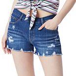 Juniors' Unionbay Vintage Boyfriend Stretch Denim Shorts