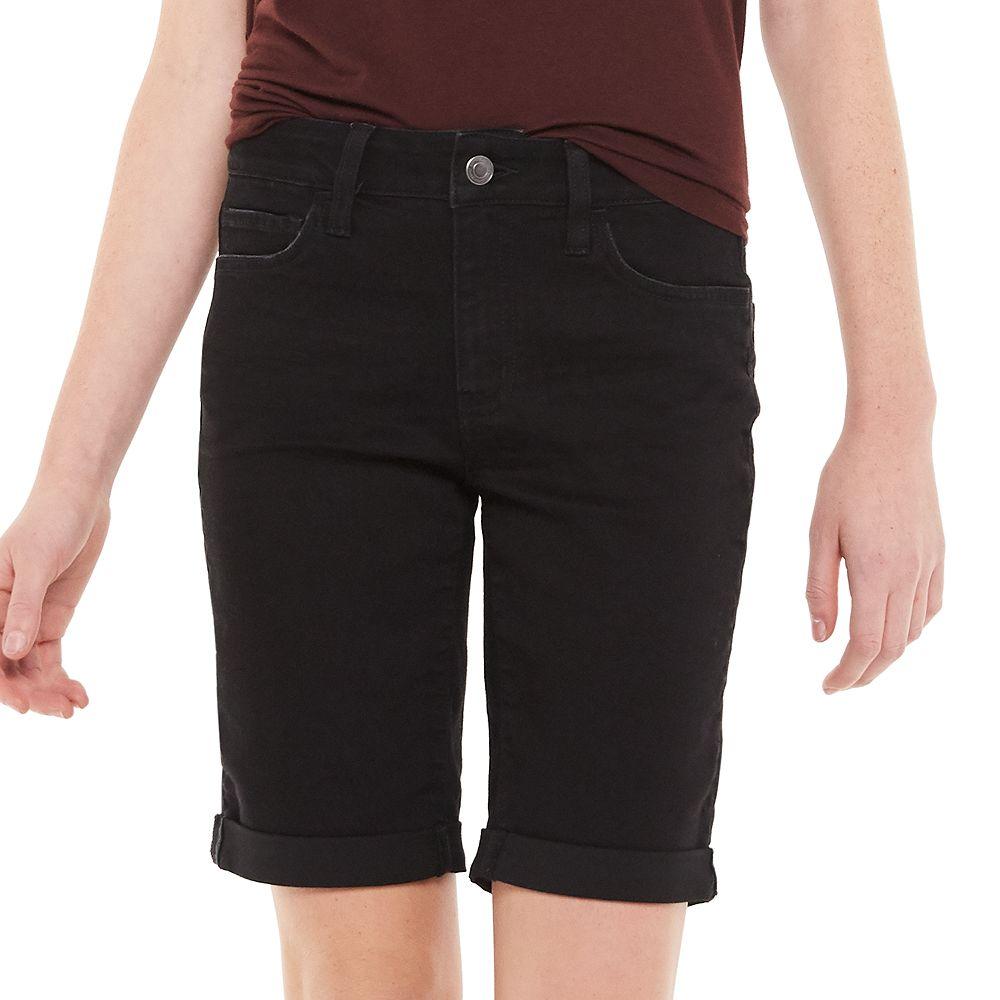 Juniors' SO® Low Rise Bermuda Shorts
