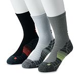 Men's Under Armour 3-pack Elevated Performance Crew Socks
