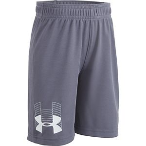 Boys 4-7 Under Armour Solid Print Graphic Logo Athletic Short