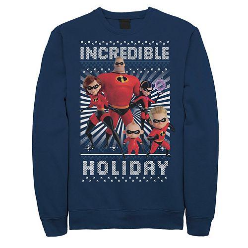 Men's Disney / Pixar Incredibles 2 Holiday Sweatshirt