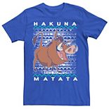 Men's Disney Lion King Pumba Hakuna Matata Tee