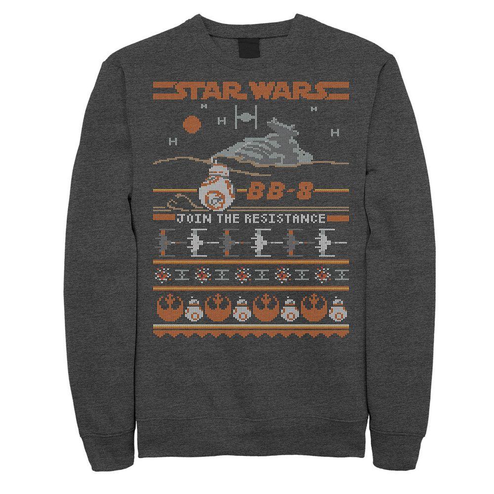 Men's Star Wars Vintage BB-8 Join The Resistance Sweatshirt