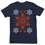 Men's Star Wars Darth Vader Snowflake Graphic Tee