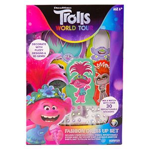 Dreamworks Trolls Make Your Own Hair /& Fashion Accesories Childrens Craft Set