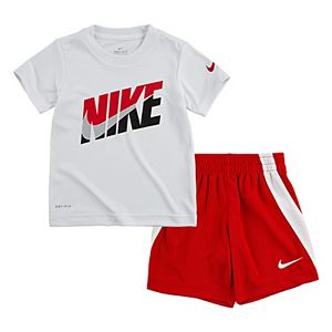 Baby Boy Nike 2-Piece T-Shirt & Shorts Set