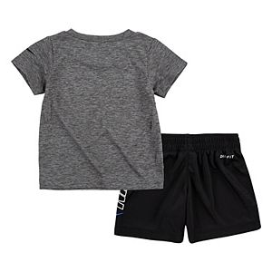 Baby Boy Nike Dri-FIT 2-Piece Tee & Shorts Set