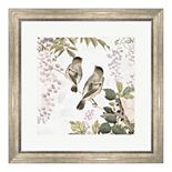 Metaverse Art Woodland Birds II Framed Wall Art
