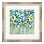 Metaverse Art Late Summer Blooms I Framed Wall Art