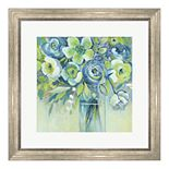 Metaverse Art Late Summer Blooms II Framed Wall Art